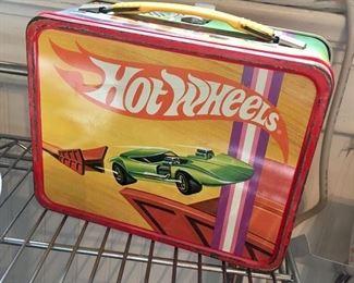 """1969 """"Hotwheels"""" lunchbox"""