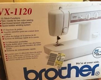 Brother sewing machine vx-1120. New in box