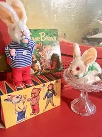 Vintage toys and books