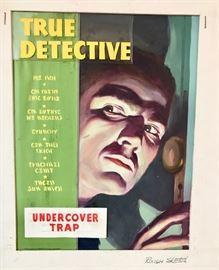 True Detective Cover Sketches