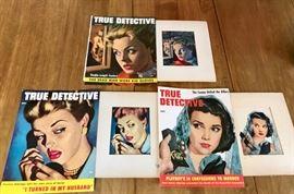Original True Detective, Ozni Brown, Cover Art