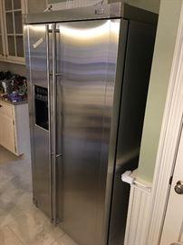 GE Monogram Stainless Refrigerator