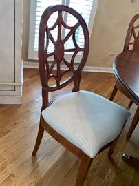 Side chair to dining room set