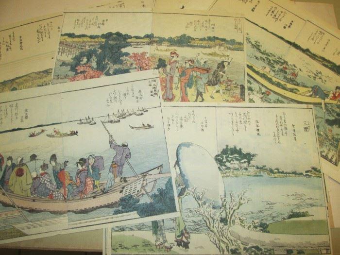 Portfolio of Chinese/Asian scenic prints.