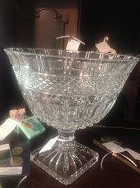 German crystal center bowl