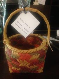 Mississippi Choctaw Indian basket