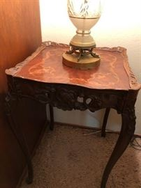 Louis IV style side tables (there are a pair)