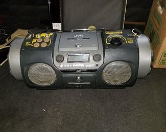 Kaboom JVC boom box model RV DP-100