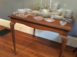 Great vintage card table