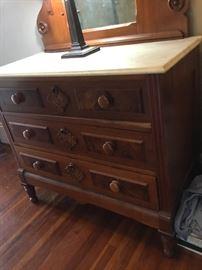 Bottom of dresser