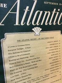 Atlantic 1940s