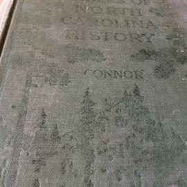 R. D. W. Connor's history of North Carolina