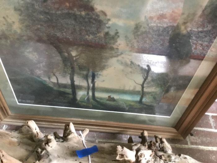 Great framed landscape