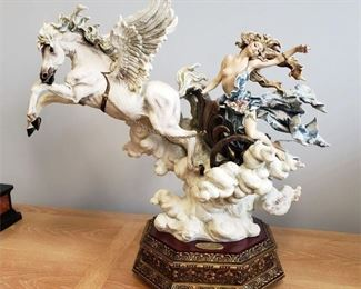 """#1 - Giuseppe Armani / Florence Sculture d' Arte """"Aurora - Goddess of Dawn"""" #680 sculpture - limited edition 60/1500. Hand signed by Giuseppe Armani."""
