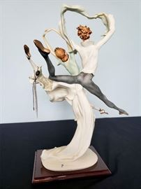 """#6 - Giuseppe Armani / Florence Sculture d' Arte """"Grand Jeté"""" #518 sculpture."""