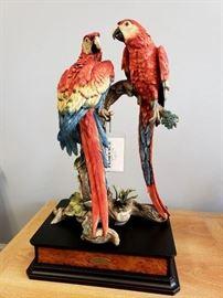 "#8 - Giuseppe Armani / Florence Sculture d' Arte ""Tropical Splendor"" #288 sculpture - Artist Proof from limited edition of 1500."