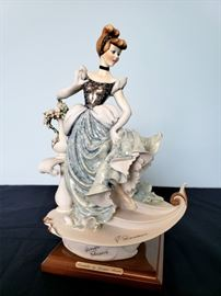 """#11 - Giuseppe Armani / Florence Sculture d' Arte """"Cinderella"""" #738 - from Disney's Cinderella. Limited edition 226/500. Hand signed by Giuseppe Armani."""