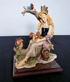 "#14 - Giuseppe Armani / Florence Sculture d' Arte ""Briar Rose"" #106 - from Disney's Sleeping Beauty."
