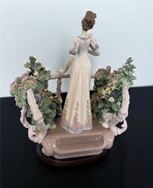 """#20 - Lladro """"Far Away Thoughts"""" #1798 - limited edition 175/1500."""
