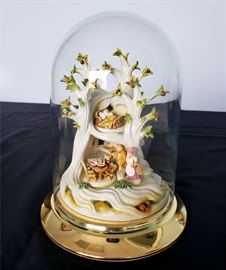 "#32 - 1999 Olszewski Studios ""Goldilocks and the Three Bears"" miniature display. Created by miniatures artist Richard Olszewski."