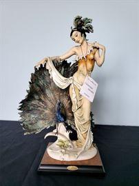 """#34 - Giuseppe Armani / Florence Sculture d' Arte """"Isadora"""" #633 figurine - limited edition 275/3000."""