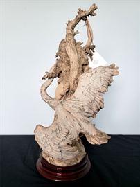 "#36 - Giuseppe Armani / Florence Sculture d' Arte ""Leda and the Swan"" #1012 figurine - limited edition 799/1500."