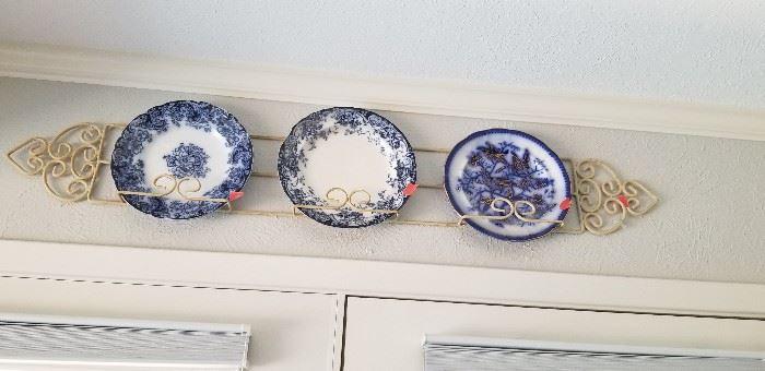 Lots of beautiful plates
