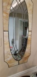 Elegant entry mirror
