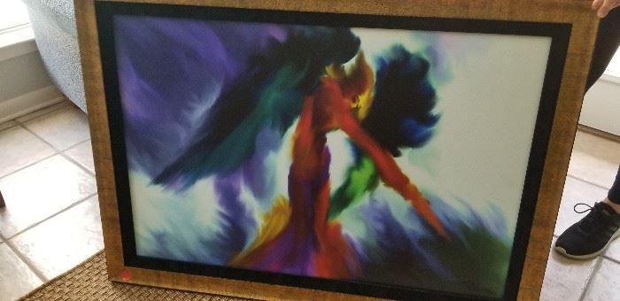 Large original art
