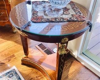 VERSACE STYLE TABLE