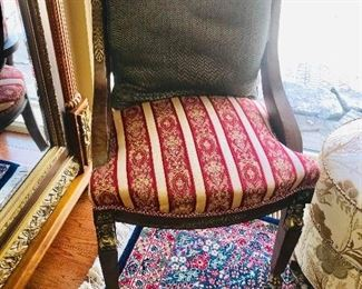 WOODEN FRENCH STYLE SIDE CHAIR-2 AVAILABLE