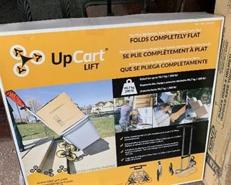 UPCART LIFT STAIR CLIMBING FOLDING HAND CART