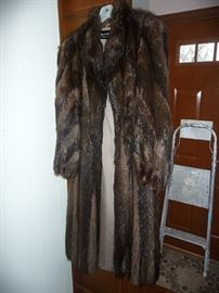 Full Length Beaver Coat