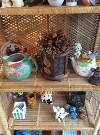 Teapots, Pitchers, Birds