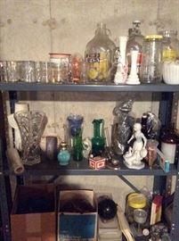 Shelving, Figurines, Vases, Jars, Stuff