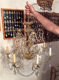 Lovely Old Chandeliers