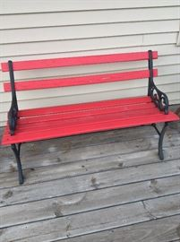 Wrought Iron n Wood Bench