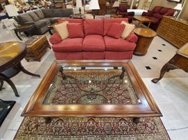 This coffee table is beautiful - in excellent condition.