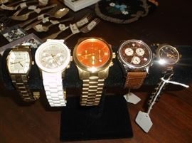 Michael Kors, Fosil watches