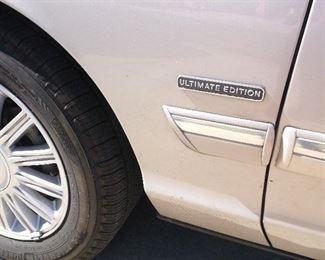 Ultimate Edition Mercury Marquis 2010 model
