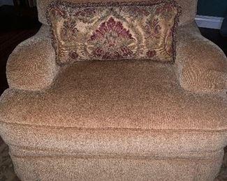 Bernhardt Large overstuffed armchair