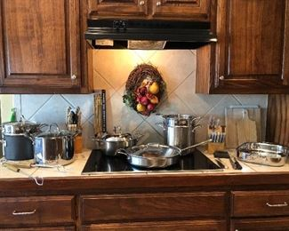 Stainless steel cookware and home decor