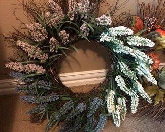 Twig home decor wreath