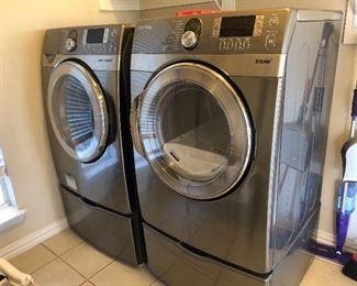 Samsung VRT Steam Washer and Dryer