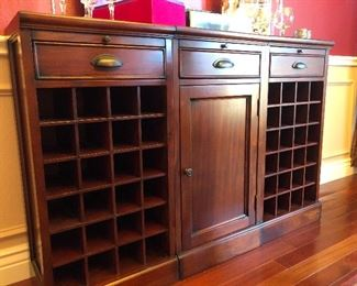 Pottery Barn Modular Wine Bar