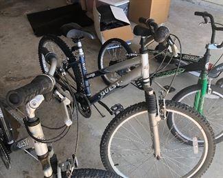 Quest mountain bikes