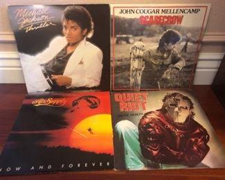 LP's, Records