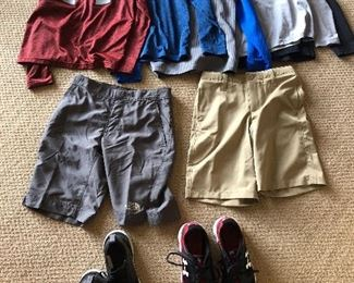 Boys Under Armour, Nike, North Face and more...