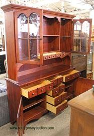 "Cherry ""Pennsylvania House Furniture"" 2 Piece Hutch  Located Inside – Auction Estimate $100-$300"