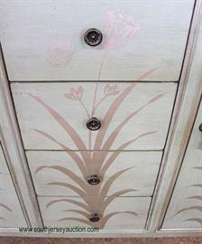 Decorator 2 Door 4 Drawer Console/Server  Located Inside – Auction Estimate $100-$300